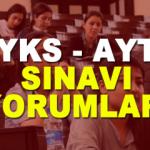 01 Temmuz YKS - AYT sınav yorumları! Üniversite sınavı sorular nasıldı?