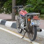 Manisa'da çalıntı motosiklet bulundu