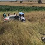 Çanakkale'de iki otomobil çarpıştı: 1 ölü, 1 yaralı