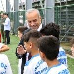 Altınordu Belediyesi Yaz Futbol ve Kaleci Okulu açıldı