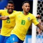 Brezilya çeyrek finalde!