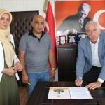 Alaçam Kadın Mesleki Eğitim Merkezi için imzalar atıldı