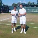 Milli sporcu Wimbledon'da şampiyon oldu!