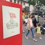 """Bursa'da """"15 Temmuz ve Manşetler"""" sergisi"""