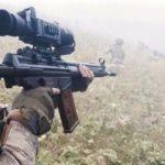 Kürtün'de PKK'lı teröristlerle çatışma kamerada