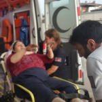 Oksijen tüpü patladı, annesi ve kızı yaralandı