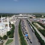 Kapıkule'de gurbetçilerin dönüş yolculuğu başladı
