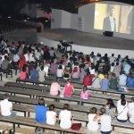 Muratlı'da açık havada sinema