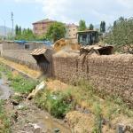 Doğubayazıt'ta sel riskine karşı önlem alınıyor
