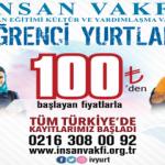 100 Lira'ya Üniversite Yurdu