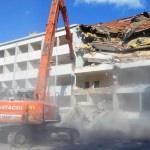 Lüleburgaz'da eski hükumet konağı yıkıldı