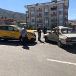 Akıncılar'da trafik kazası: 1 yaralı