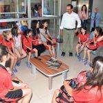 Başkan Cahan, yaz kurslarında inceleme yaptı