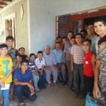 Kur'an kursu öğrencilerinden yaşlı ve hastalara ziyaret