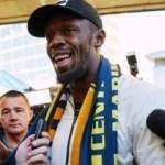 Futbolcu olan Bolt yeni takımı için Avustralya'da!