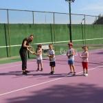 Tekirdağ'da tenis yaz okulu devam ediyor