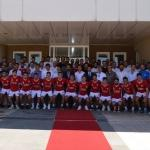 Sivasspor'da bayramlaşma