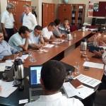 Beypazarı'nda okul müdürleriyle toplantı