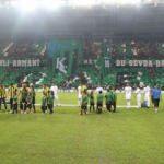 Kocaelispor yeni stadında ilk maçına çıktı
