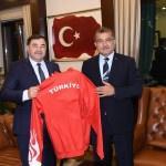 Aydın'dan Emniyet Genel Müdürü Uzunkaya'ya ziyaret