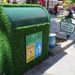 """Yeni Çarşı'da çöp konteynerleri """"yeşillendi"""""""