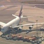 ABD'de uçak karantinaya alındı! New York'ta panik