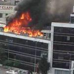 Büyük panik! İkitelli'deki plazada yangın