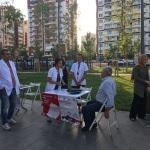 Sağlıklı Yaşam Aracı, Diyarbakır'da halkla buluştu