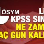 2018 KPSS lise sınavı ne zaman tam saat kaçta?