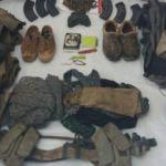 PKK'lı teröristler kıyafetlerini bırakıp kaçıyor