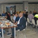 Vezirköprü'de Emniyet mensupları yemekte buluştu