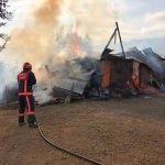Sakarya'da ahır yangını