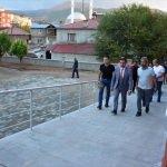 Alibeyoğlu, belediye çalışmalarını inceledi