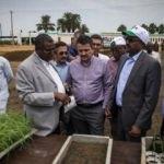 Sudan'da Türk heyetine yoğun ilgi