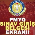 PMYO sınav giriş yerleri ve belgeleri açıklandı! 2018 Polis Akademisi giriş...