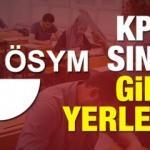 2018 KPSS ortaöğretim memurluk sınavı giriş belgesi!