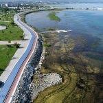 Beyşehir'de göl kıyısına bisiklet ve yürüyüş yolu yapıldı