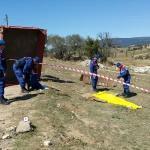Kütahya'da traktör römorku devrildi: 2 ölü