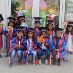 Başkale'de mezuniyet töreni
