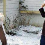 Nazlı Ilıcak sadece kar topu oynamış