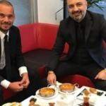 Sneijder: 'Türk yemeklerini tercih ediyorum'