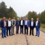 Milletvekili Çilez, asfalt çalışmalarını inceledi