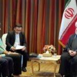 Ruhani, IMF Başkanı Lagarde ile görüştü