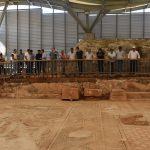 Adıyaman'da 9 yıl önce bulunan mozaik ziyarete açıldı
