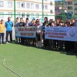 Taşova'da Dünya Yürüyüş Günü etkinliği