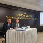 Tekirdağ İl Koordinasyon Kurulu toplandı