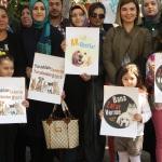 AK Parti'li gençler sokak hayvanlarına dikkat çekti
