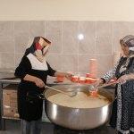 Doğubayazıt'ta çorba ikramı geleneği devam ediyor