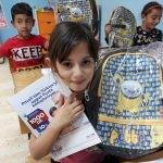 PTT'den köy okulu öğrencilerine kırtasiye yardımı