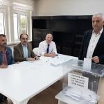 Eğitim-Bir-Sen Taşova İlçe Teşkilatı'nda seçim